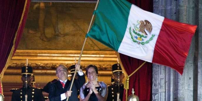 Le président Felipe Calderon a poussé le