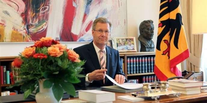 Le président allemand, Christian Wulff, à Berlin, le 6 août 2010.