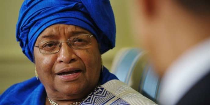 La présidente du Liberia, Ellen Sirleaf-Johnson, en mai 2010 à Washington.