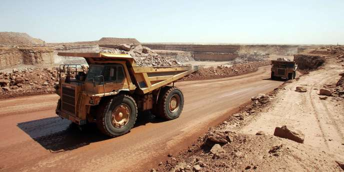 Une mine d'uranium au Niger.