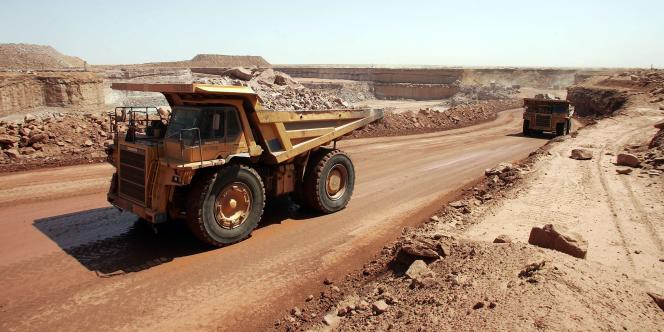 La mine d'uranium d'Arlit, exploitée par Areva au Niger.