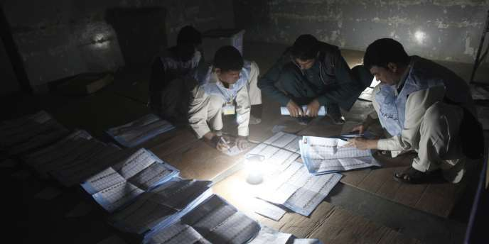 Le décompte des voix a commencé en Afghanistan.