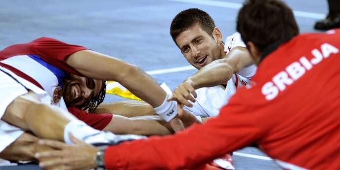 La Serbie s'est qualifiée pour la finale de la Coupe Davis, le 19 septembre, aux dépens de la République tchèque.