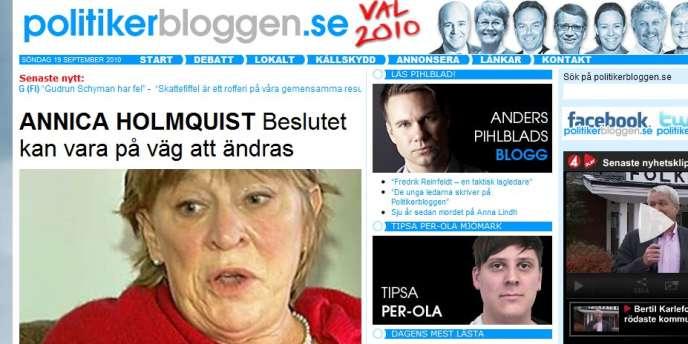 L'histoire d'Annica Holmquist, gravement malade et privée de sa couverture sociale, a fait la une de la presse et des sites politiques suédois dans la dernière ligne droite de la campagne.