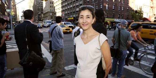 Ingrid Betancourt, à New York, le 14 septembre 2010.