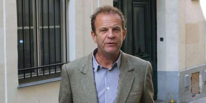 François-Marie Banier à Paris, le 3 septembre 2010.