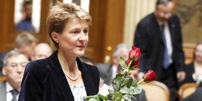 A 50 ans, Simonetta Sommaruga est devenue mercredi la nouvelle ministre du transport, de l'énergie et de la communication suisse.