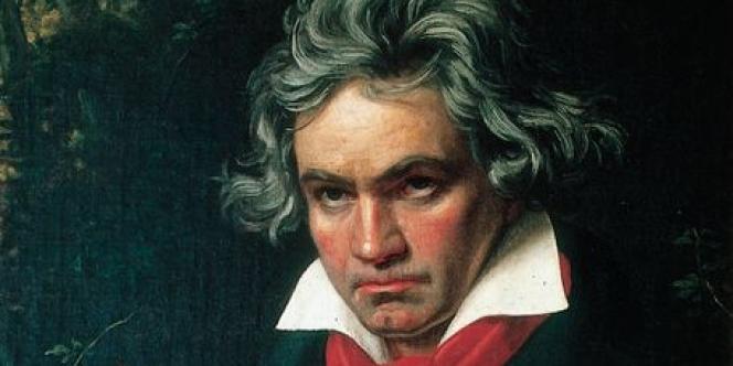 Portrait de Beethoven, peint par l'Allemand Joseph Karl Stieler en 1820.