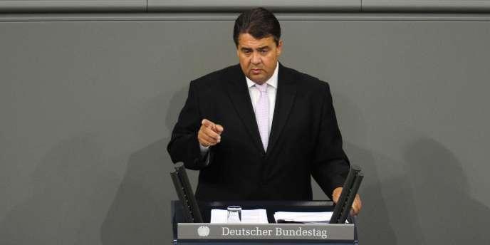 Le président du SPD, Sigmar Gabriel, accuse les banques suisses de
