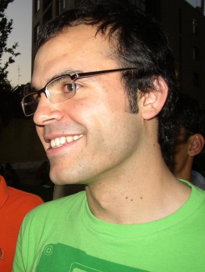 Le blogueur irano-canadien Hossein Derakhshan, en 2005.