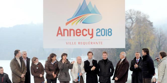 Annecy est candidate à l'organisation des Jeux d'hiver 2018.