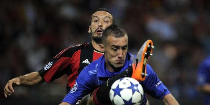 Ireneusz Jelen sera titulaire à la pointe de l'attaque auxerroise face au Real Madrid.