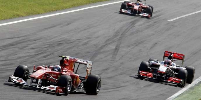 Grand Prix de Monza, le 12 septembre 2010.