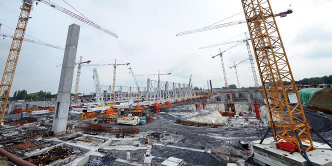 Le stade de Lille Métropole est prévu pour l'horizon 2012.