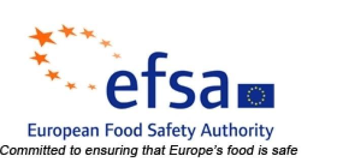 Le logo de l'EFSA (European Food Safety Authority), l'Autorité européenne de sécurité alimentaire (AESA).