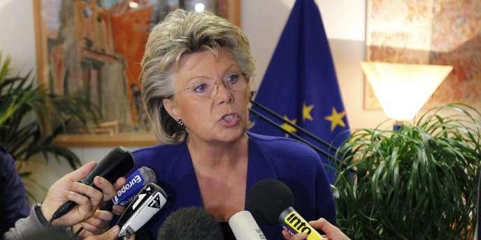 La vice-présidente de la Commission européenne, Viviane Reding, en septembre 2010.