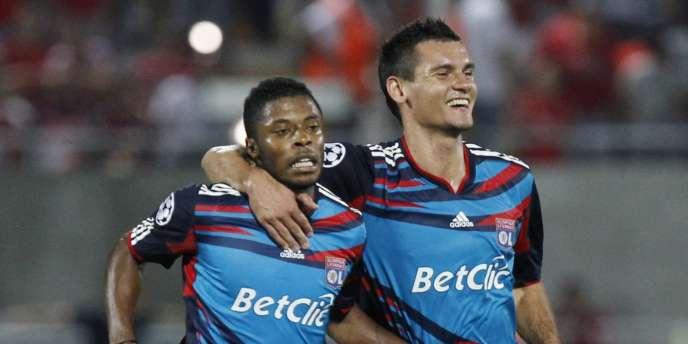 Michel Bastos avait inscrit un doublé pour Lyon face à Tel-Aviv lors du match aller.