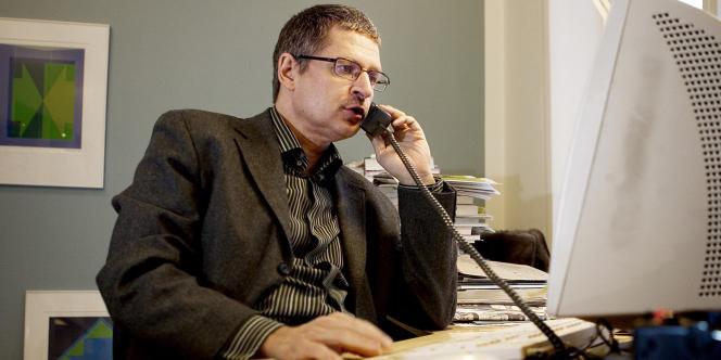 Flemming Rose, rédacteur en chef des pages culture du Jyllands-Posten qui a publié les caricatures de Mahomet, en février 2006.