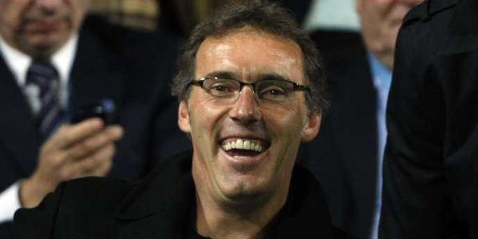 Laurent Blanc lors d'Auxerre-Real Madrid le 28 septembre.