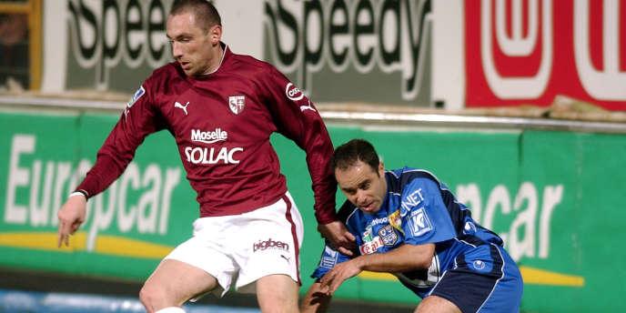En 2005, Samuel Allegro jouait en première division sous les couleurs de Metz.