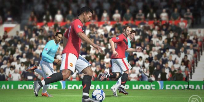 Le jeu Fifa 11.