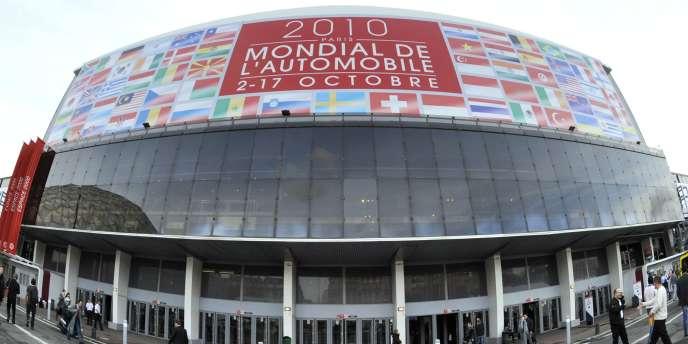 Le Mondial de l'automobile 2010 se tient à Paris, du 2 au 17 octobre.