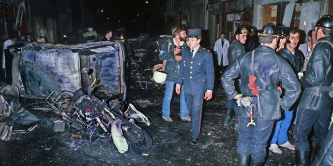 L'attentat de la rue Copernic avait causé la mort de quatre personnes, le3octobre1980, à Paris.