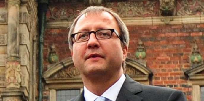 Le président de la Cour constitutionnelle allemande, Andreas Vosskuhle, dimanche 3 octobre.