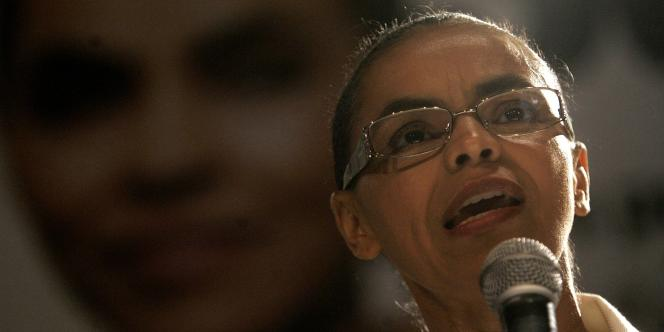 Marina Silva, en 2010.