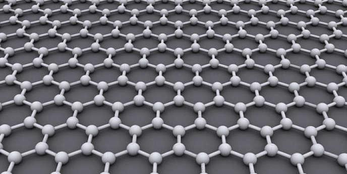 Le graphène est un cristal de carbone bidimensionnel.