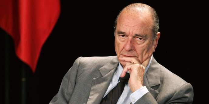 L'ancien président et ancien maire de Paris, Jacques Chirac, a porté plainte contre Robert Bourgi.