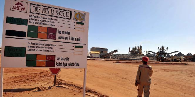 A la demande du Niger, Areva va compenser financièrement le retard pris dans l'exploitation de la mine d'Imouraren.