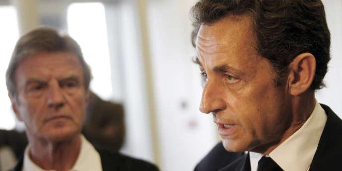 Nicolas Sarkozy et Bernard Kouchner, le 1er juin 2009.