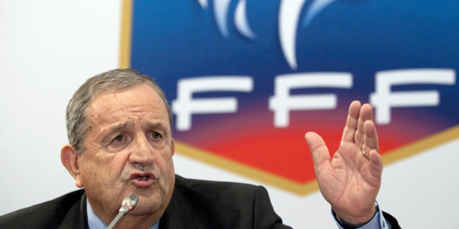 Fernand Duchaussoy, président de la FFF, est candidat à sa succession lors de l'élection du 18 juin.