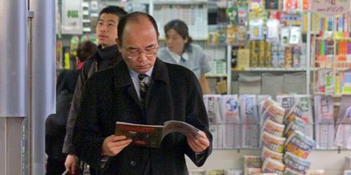 Comme la population japonaise, le lectorat de la presse nippone vieillit inexorablement et les jeunes ne lisent plus de journaux.