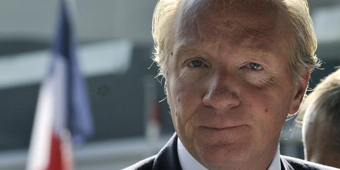 L'ancien ministre de l'intérieur Brice Hortefeux.