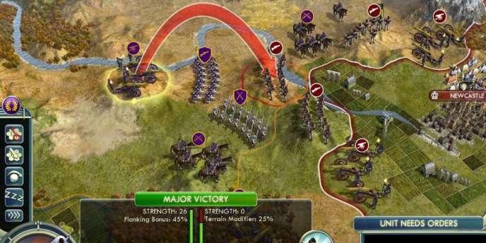 Civilization V, sur PC.