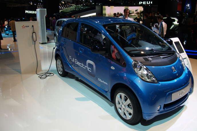 En 2011, Peugeot a immatriculé en France plus de 500 iOn, selon les résultats commerciaux de la marque.