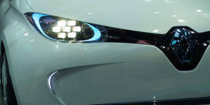 Zoé, la voiture 100% électrique de Renault.