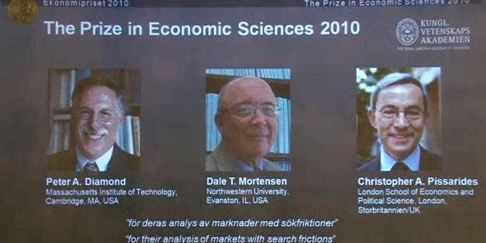 Doté d'une récompense de 10 millions de couronnes suédoises (1,07 million d'euros), ce prix clôt la saison des Nobel.