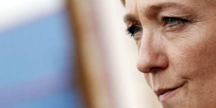 Marine Le Pen, le 3 octobre 2010, à La Chapelle-sur-Erdre, près de Nantes.