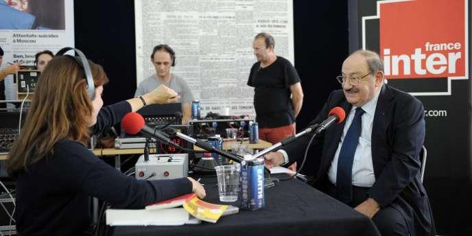 Umberto Eco dans les locaux du