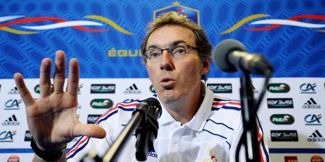 Laurent Blanc , le 10 octobre 2010.