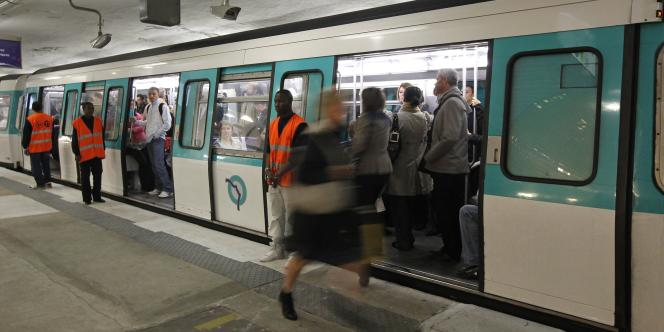 Gare Saint-Lazare, en octobre 2010.