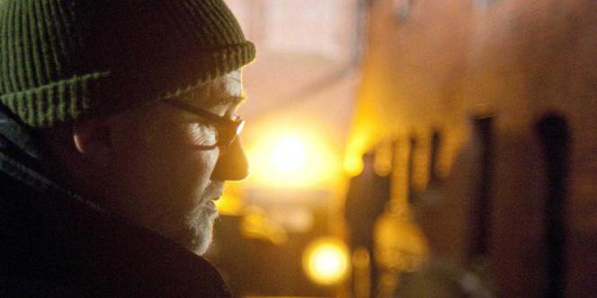 David Fincher sur le tournage de