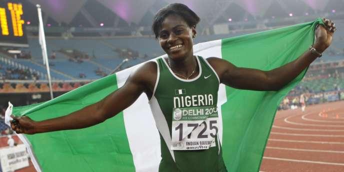 Oludamola Osayemi a été la première des trois athlètes contrôlés positifs à des produits interdits.