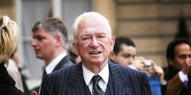 Jean-Paul Guerlain, le 25 février 2008.