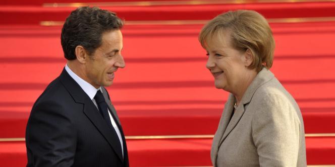 Nicolas Sarkozy et Angela Merkel se trouvaient, lundi 18 octobre, à Deauville, pour un sommet tripartite avec le président russe, Dmitri Medvedev.