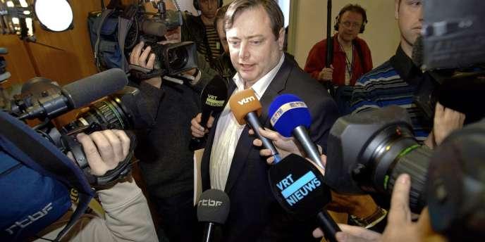 Le président de la Nouvelle Alliance flamande (NVA, indépendantiste), Bart De Wever, s'est dit