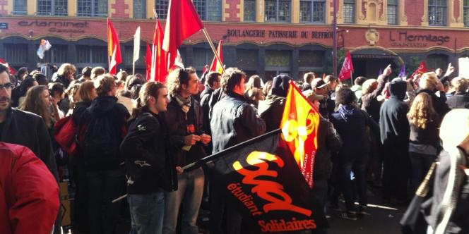 Malgré les appels, les étudiants de Lille-I étaient peu nombreux à participer, mardi 19 octobre, au mouvement contre la réforme des retraites. Les syndicats assurent que le mouvement va aller en s'amplifiant.